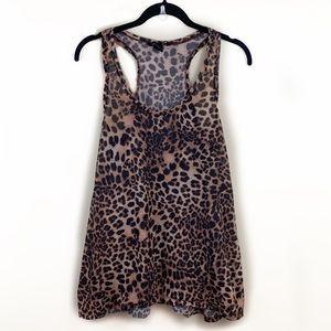 H&M Cheetah Print Racerback Tank⭐️